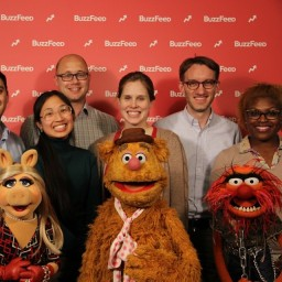 Ya know, just kickin it with The Muppets.