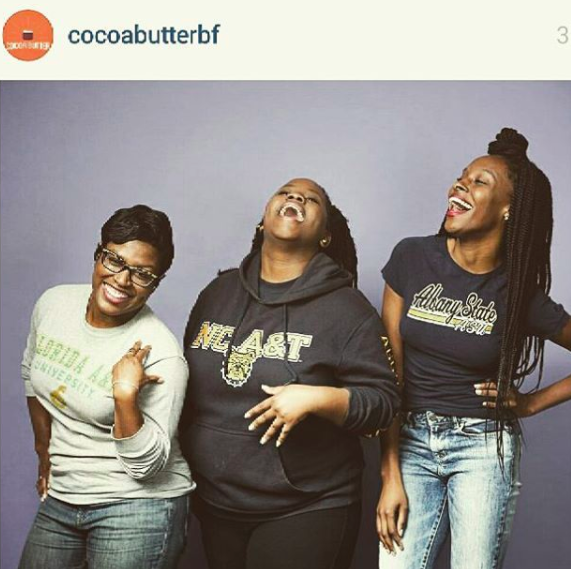 HBCU love for Cocoabutter BF